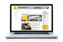 <strong><p>Cr&eacute;ation et programmation du site internet.<br />Maintenance du site internet.</p></strong><br />Client: Garage-carrosserie Philippe Varrin Sàrl<br />Visitez le site <a href='http://www.varrin.ch' target='_blank'>www.varrin.ch</a>
